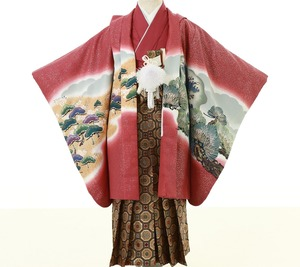 鎌倉七五三 5歳男子 着物レンタル 2177