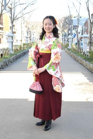 鎌倉小学生卒業袴 女児 (6)