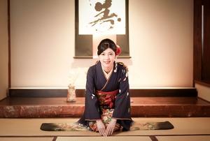 鎌倉 成人式 前撮り 和室ロケーション