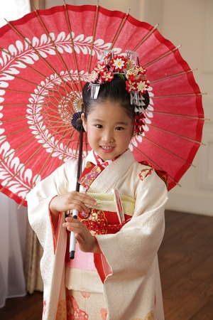 七五三写真 7歳スタジオ写真 鎌倉家族写真