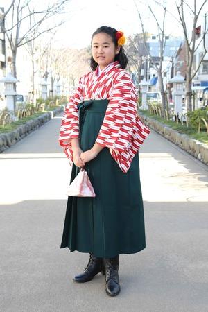 鎌倉小学生卒業袴 女児 (9)