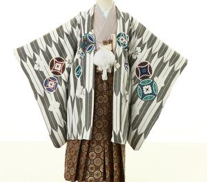 鎌倉七五三 5歳男子 着物レンタル 2126