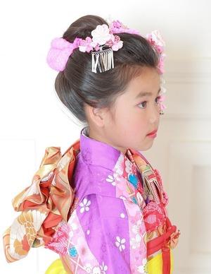 鎌倉七五三日本髪画像
