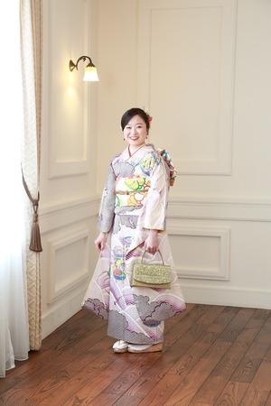 鎌倉成人式振袖ポートレート