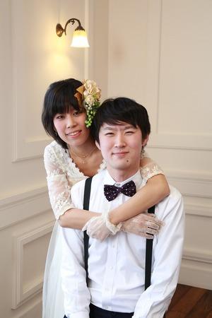 鎌倉結婚記念写真