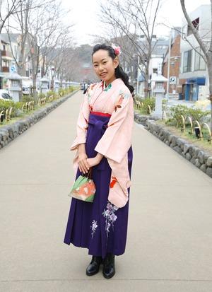 鎌倉 小学生卒業袴レンタル11