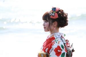 成人前撮り屋外撮影海ロケーション神奈川