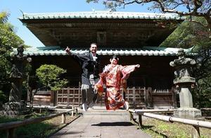 鎌倉英勝寺結婚式写真