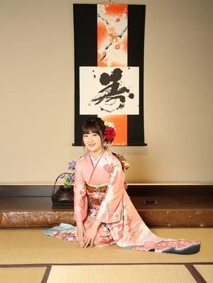 振袖スtジオ写真 鎌倉成人式 成人式着物