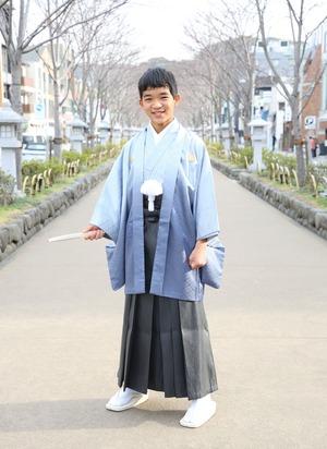 鎌倉 小学生男子 卒業袴 写真9