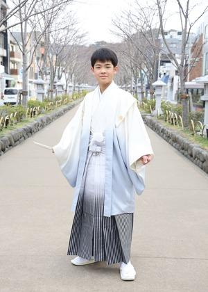 鎌倉 小学生男子 卒業袴 写真3