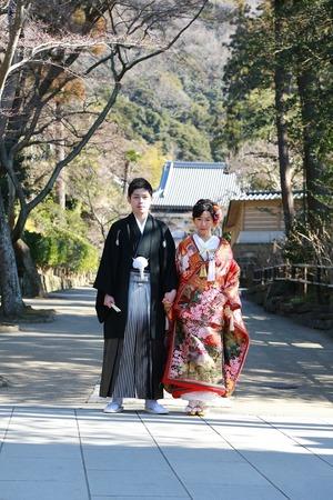 円覚寺結婚式写真