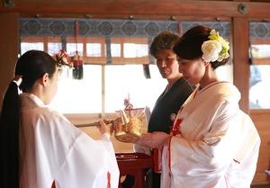 葉山森戸大明神 結婚式