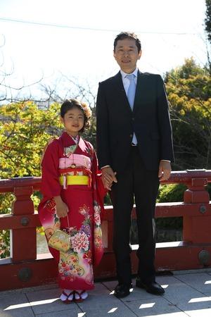 鶴岡八幡宮七五三ロケーション写真2 (2)