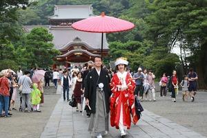 鶴岡八幡宮結婚式写真