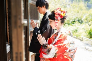 和洋装フォトウェディング鎌倉17