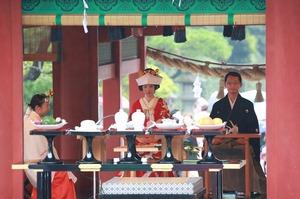鶴岡八幡宮結婚式舞殿