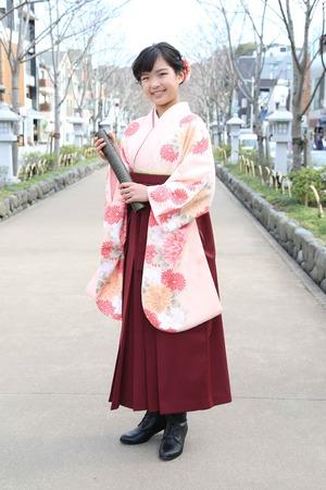 鎌倉小学生卒業袴 女児 (15)