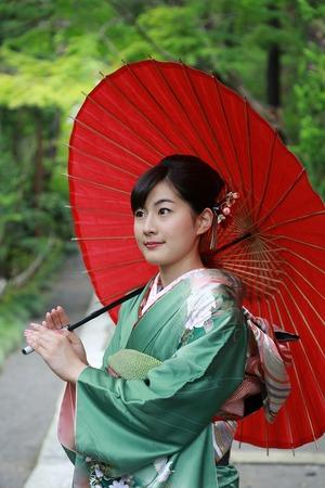 鎌倉成人式振袖写真2