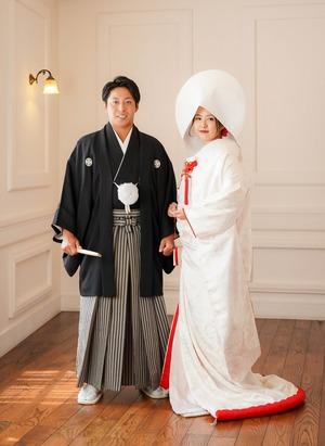 鎌倉宮結婚式 白無垢 スタジオ写真館1