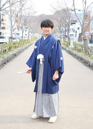 鎌倉 小学生男子 卒業袴 写真8