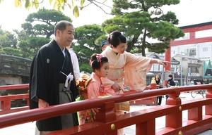 鶴岡八幡宮七五三ロケーション撮影