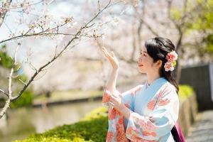 卒業袴桜ロケーションフォト鎌倉