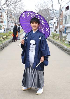 鎌倉 小学生男子 卒業袴 写真18