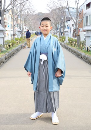 鎌倉 小学生男子 卒業袴 写真14
