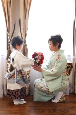 鎌倉七五三 5歳お祝い着 鎌倉スタジオ写真