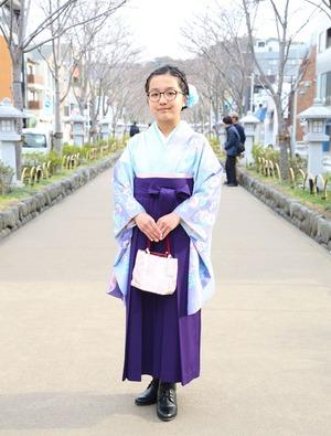 鎌倉 小学生卒業袴レンタル2