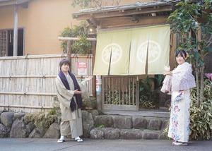 鎌倉散策 着物 カップル 記念日 写真9