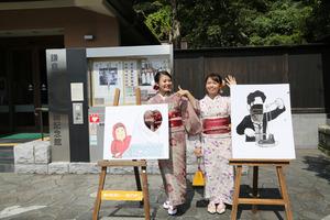鎌倉豊島屋さん着物写真 (2)
