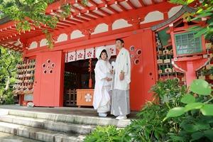 鎌倉荏柄天神社結婚奉告祭