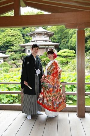 鎌倉光明寺フォトウェディング6