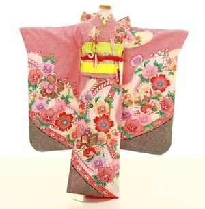 鎌倉七五三 レンタル着物 7歳 1820