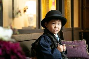 5歳お祝い写真 七五三撮影 鎌倉5歳着物