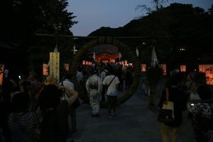 八幡様ぼんぼり祭4