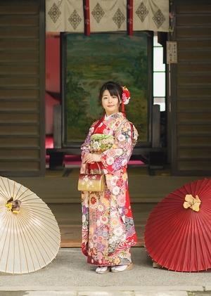 鎌倉宮成人式ご祈祷 振袖前撮り ロケーションフォト20