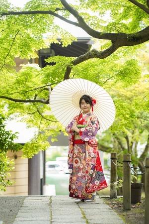 鎌倉宮成人式ご祈祷 振袖前撮り ロケーションフォト14