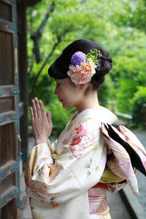 鎌倉成人式振袖前撮り屋外出張撮影