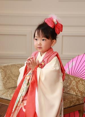鎌倉鶴岡八幡宮七五三スタジオ写真3歳