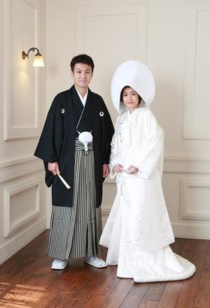 婚礼和装白無垢スタジオ写真