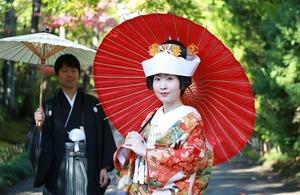鎌倉婚礼前撮り撮影