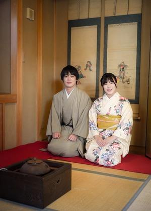 鎌倉散策 着物 カップル 記念日 写真10