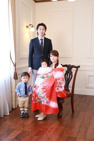 鎌倉お宮参り写真2