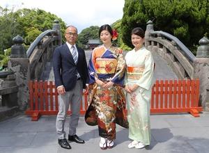 鎌倉振袖八幡宮