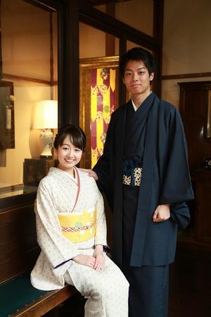 鎌倉レンタル着物カップル