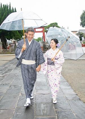 鎌倉 レンタル着物 記念日 写真 夫婦 5