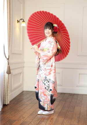 振袖写真 鎌倉成人式 成人式着物レンタル